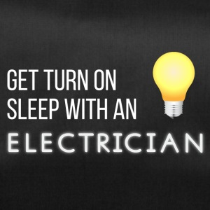 Electricians: Get turn on sleep with at Electrician - Duffel Bag