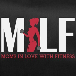 Moms in love with fitness - Sporttasche