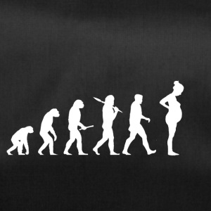 Evolution Pregnant! Child! Pregnancy! Infant! - Duffel Bag
