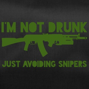 Militär / Soldaten: I´m not drunk. Just avoiding - Sporttasche