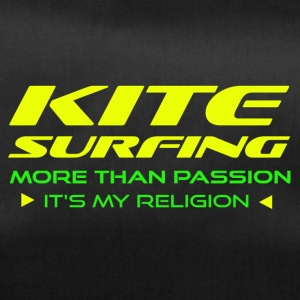KITESURFING - MORE THAN PASSION - ITS MY RELIGION - Sporttasche