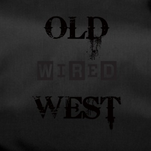 Old wired west Black - Duffel Bag
