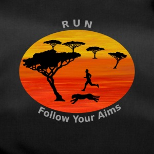 Run Follow your aims, Africa - Duffel Bag