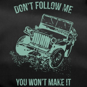 Follow Me Jeep bil - Sportstaske