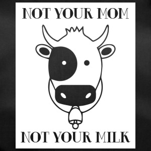 Koe / boerderij: Not Your Mom! Not Your Milk. - Sporttas