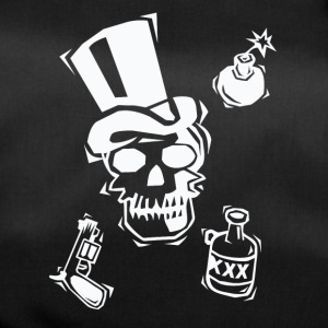 "Stylish shirt ""Skull-Guns-alcohol - Duffel Bag"
