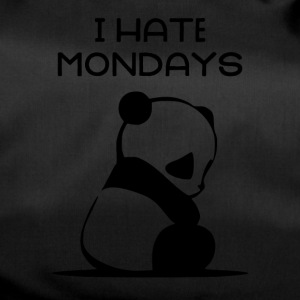 I HATE MONDAYS - Duffel Bag