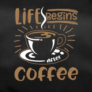 Life Begins after Coffee - Duffel Bag
