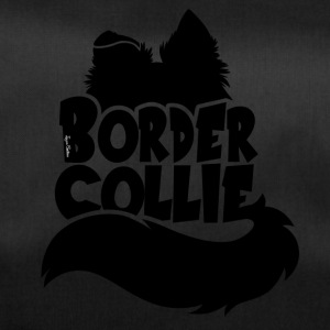 Silhouette Border Collie - Sort - Sportstaske
