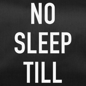 NO SLEEP TOT - Sporttas