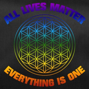 YOGA ALL LIVES MATTER EVERYTHING IS ONE SHIRT - Sporttasche