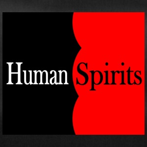 Human Spirits black and red - Sporttasche