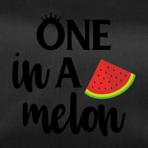 One in a melon - black - Duffel Bag
