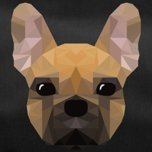 French Bulldog - low poly style - Duffel Bag