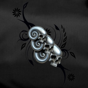 Skull and Swirl - Sporttasche