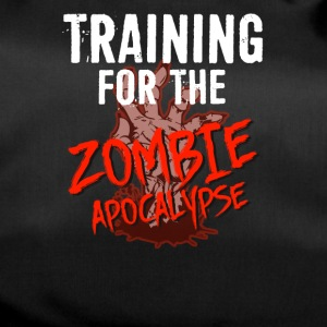 Training for the ZOMBIE APOCALYPSE T-Shirt - Sporttasche