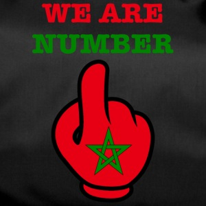 MOROCCO MAROKKO MAROC المغرب WE ARE NR 1 - Sporttasche