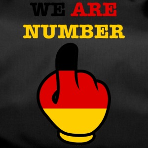 Germany Deutschland WE ARE NUMBER 1 - Sporttasche
