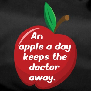 An apple a day... - Sporttasche