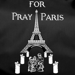 Pray for Paris - Sporttasche