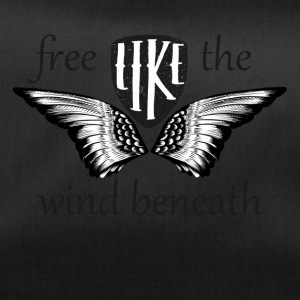 free like the wind beneath my wings - Sporttasche