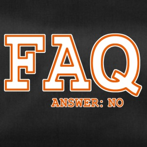 FAQ NO - Sac de sport