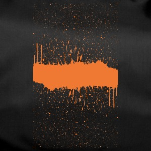 orange brush sketch - Duffel Bag