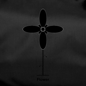 Geometry / special series / Flower / without background - Duffel Bag