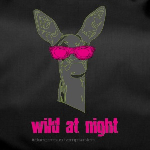 "Fawn with sunglasses ""wild at night"" - Duffel Bag"