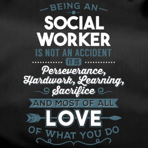 Love what you do - Social Worker - Sporttasche
