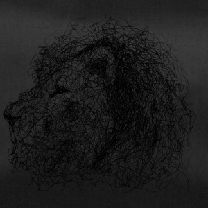 Lion Scribble - Sportstaske