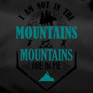 Mountains are in me - berg - Duffel Bag
