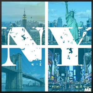 NEW YORK BLUE - Sportstaske