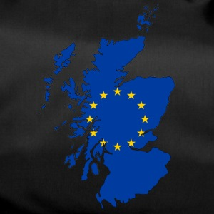 Scotland Map with EU Flag - Duffel Bag