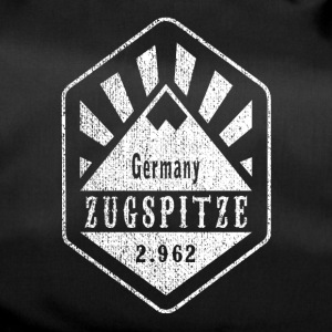 Zugspitze coat of arms - white - Duffel Bag