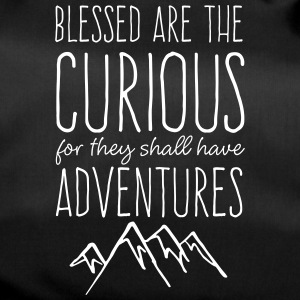 Blessed are the Curious - Duffel Bag