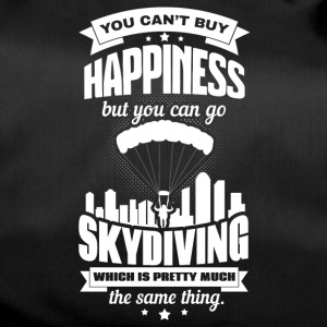 You can´t buy happiness - Sporttasche