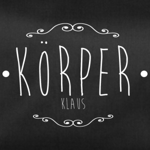 The one and only Körper-Klaus - Sporttasche