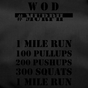 WOD Murph black - Duffel Bag