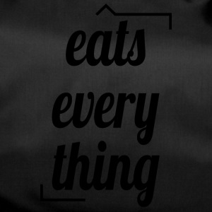 Eats everything - Sporttasche