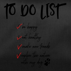 To do list for dog lovers - Duffel Bag