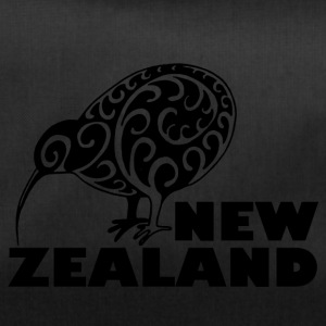New Zealand Kiwi me lettering Zealand, black - Duffel Bag