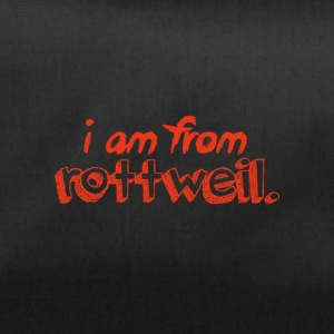 I am from Rottweil. - Sporttasche