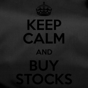 KEEP CALM AND BUY STOCKS - Sporttasche