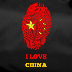 I LOVE CHINA - Sporttasche