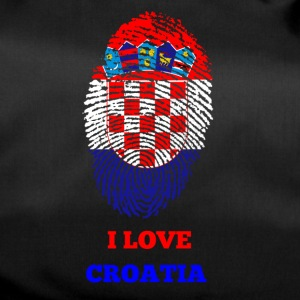 I Love Croatia - Duffel Bag