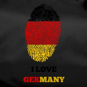 AMO GERMANIA FINGERPRINT T-SHIRT - Borsa sportiva