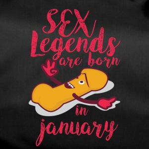 Birthday January penis sex legends - Duffel Bag