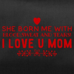 I Love You MOM - Duffel Bag