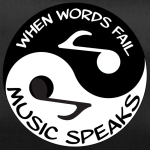Music Speaks - Duffel Bag